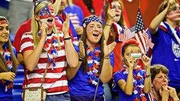 Die US-amerikanischen Fans sind in der Überzahl.