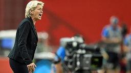 Bundestrainerin Silvia Neid ist unzufrieden.