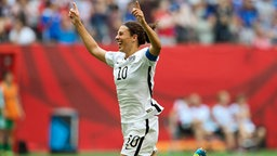 Jubel bei Carli Lloyd © picture alliance / AP Images Fotograf: Jonathan Hayward