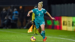 Die deutsche Nationalspielerin Carolin Simon © imago images / PanoramiC