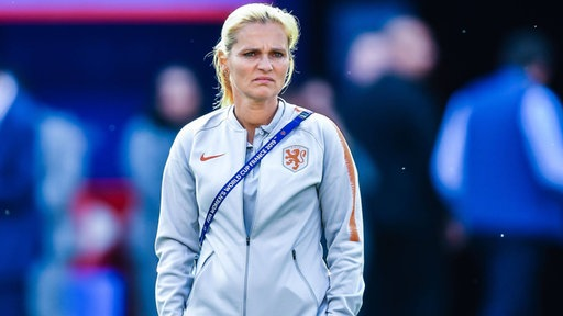 Die niederländische Nationaltrainerin Sarina Wiegman