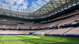 Das WM-Stadion Stade de Nice in Nizza © picture alliance, Masante Patrice/Pixel Press/ABAC Foto: Masante Patrice/Pixel Press/ABAC