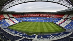 Das WM-Stadion Parc Olympique Lyonnais in Lyon © picture alliance Foto: Gernot Hensel