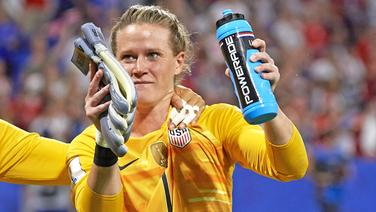 Die US-amerikanische Nationalkeeperin Alyssa Naeher © imago images / ZUMA Press