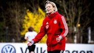 Frauenfußball-Bundestrainerin Martina Voss-Tecklenburg © imago images / Nordphoto