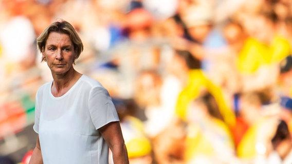 Bundestrainerin Martina Voss-Tecklenburg © imago images / Bildbyran